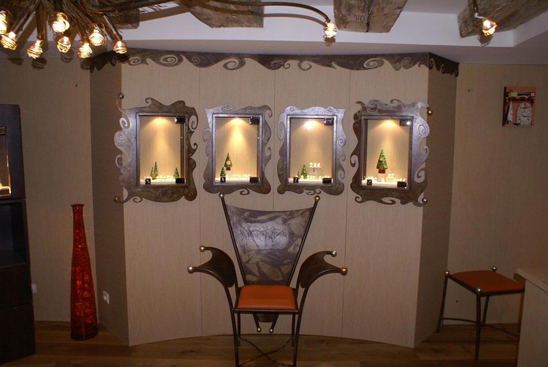 présentoirs et chaises - nolimites
